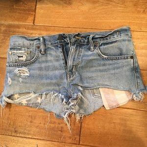 Ralph Lauren Boyfriend Cut-Off Jean Shorts